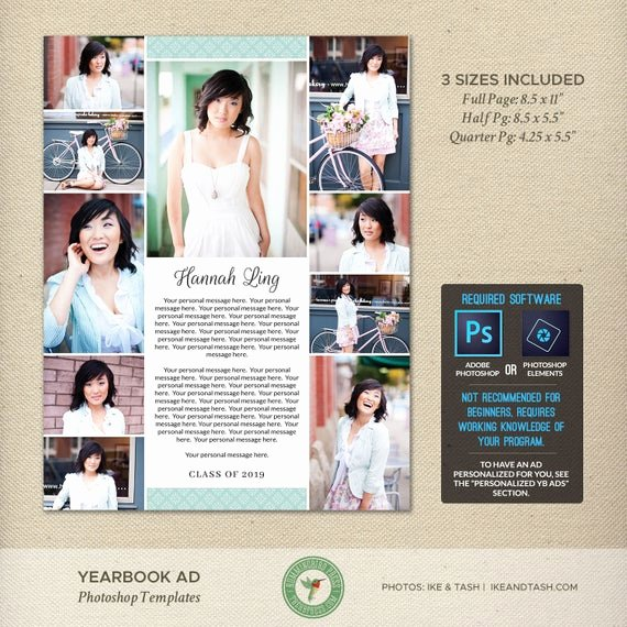 Yearbook Ad Templates Free Download Inspirational Senior Yearbook Ad Shop Templates Dedication Tribute