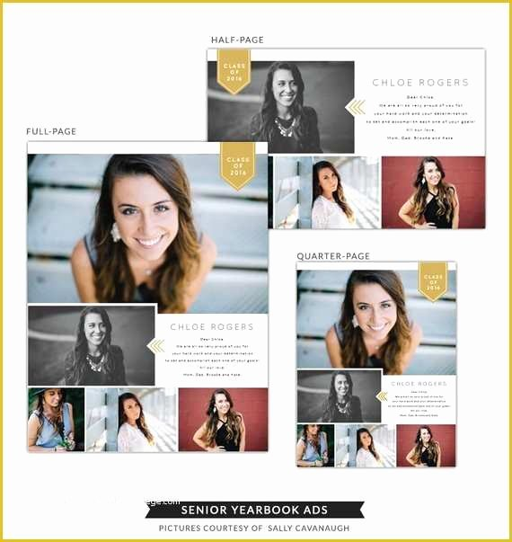 Yearbook Ad Templates Free Download Inspirational Senior Yearbook Ad Templates Free Instant Download