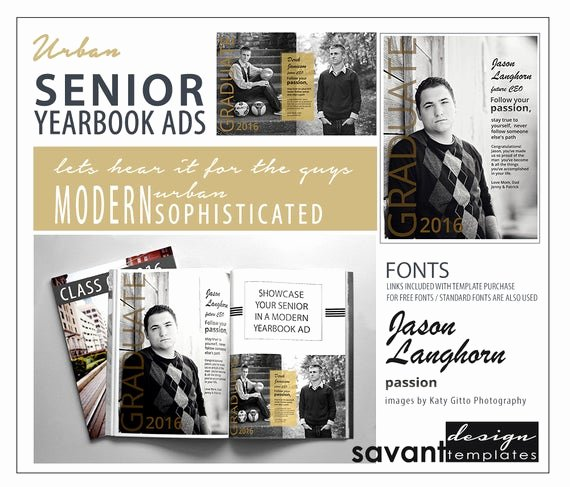 Yearbook Ad Templates Free Download Inspirational Yearbook Ads Senior Graduation Shop Templates Urban