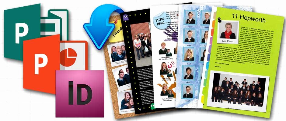 Yearbook Template Powerpoint Awesome School Yearbooks and Leavers Books From £5