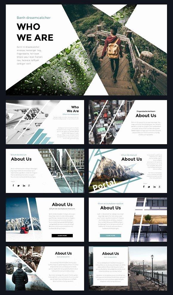 Yearbook Template Powerpoint Elegant Portal Modern Powerpoint Template Presentation Templates