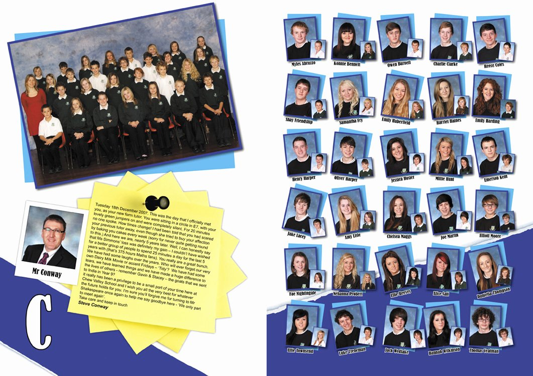 Yearbook Template Powerpoint Fresh School Yearbook Page Samples