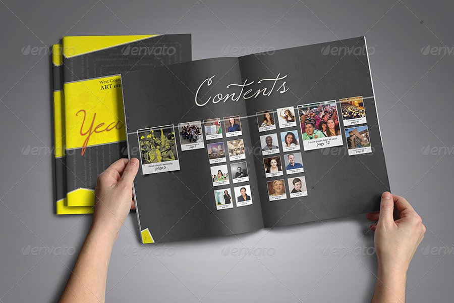 Yearbook Template Powerpoint New Modern Yearbook Template by Zheksha