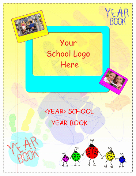 Yearbook Template Powerpoint Unique Student Year Book Template