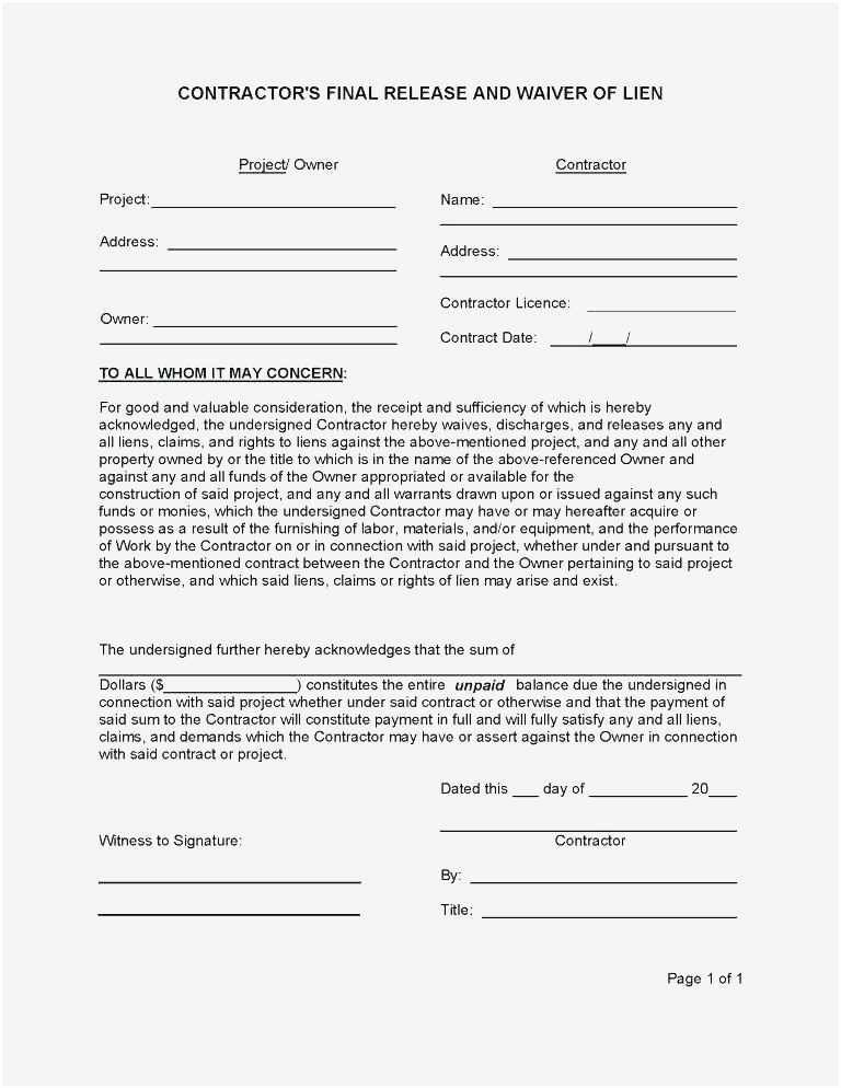 Yoga Release forms Luxury Free Damage Waiver Template – Cleanwindowsfo Professional