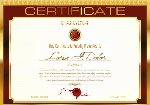 Younique Gift Certificate Template Beautiful Certificate Template Ai File