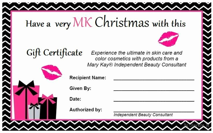 Younique Gift Certificate Template Inspirational 232 Best Images About Marykay On Pinterest