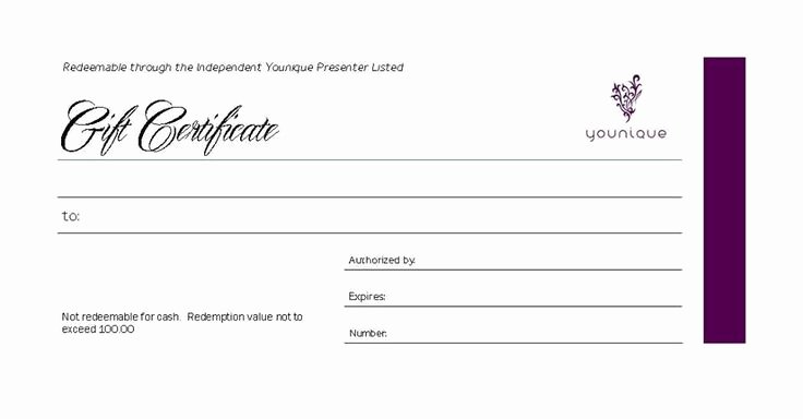 Younique Gift Certificate Template New 1000 Images About Younique Gift Certificate On Pinterest
