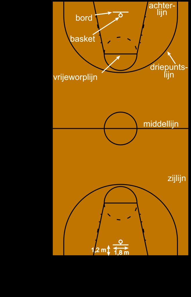 Youth Basketball Court Dimensions Diagram Elegant File Basketball Court Metric Nlg Wikimedia Mons