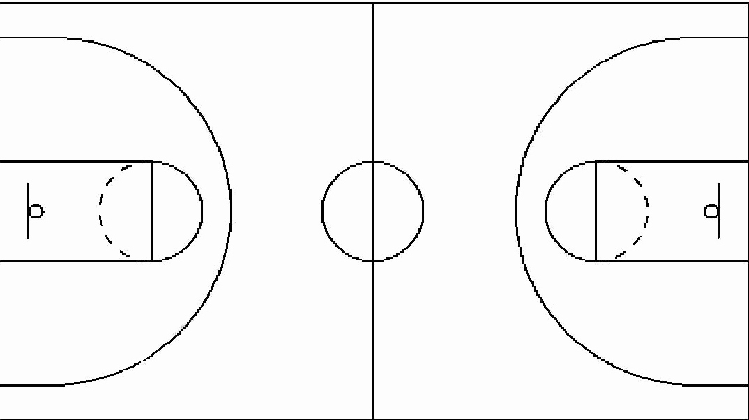 Youth Basketball Court Dimensions Diagram Inspirational Best S Of Basketball Play Diagram Sheets Printable