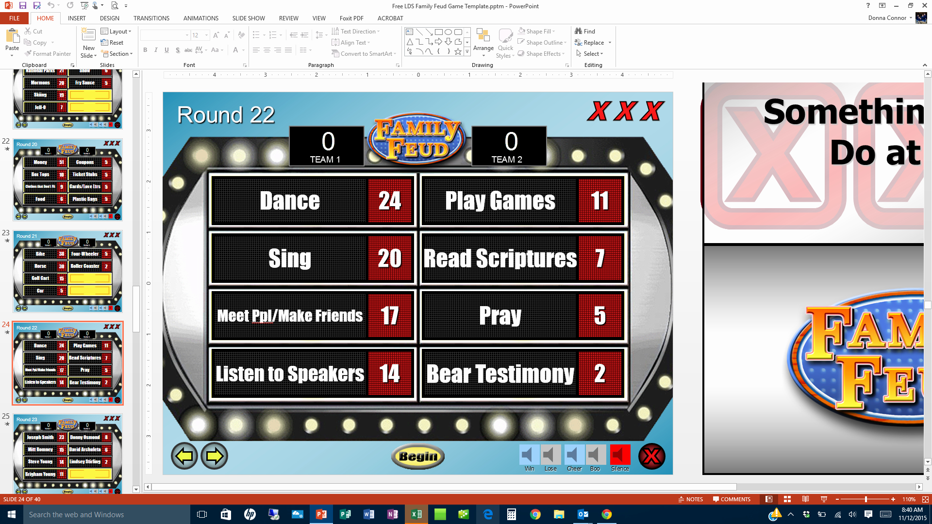 Youth Downloads Family Feud Elegant 27 Of Family Feud Blank Template for Powerpoint