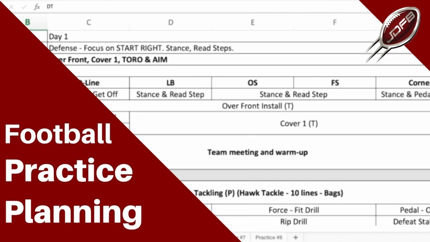 Youth Football Practice Plans Excel Awesome 009 Ymca Ps Plan Template Youth Football Practice Plans