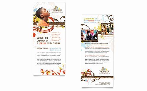 Youth Ministry Budget Template Elegant Business Rack Card Templates